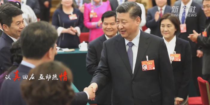 习近平出席2019年全国两会人大代表、政协委员共商国是纪实