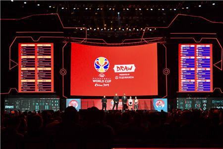 2019年国际篮联篮球世界杯抽签仪式举行