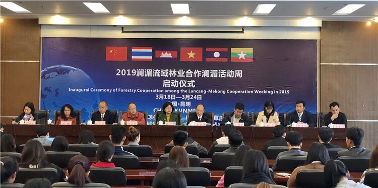 2019澜湄流域林业合作澜湄活动周启动