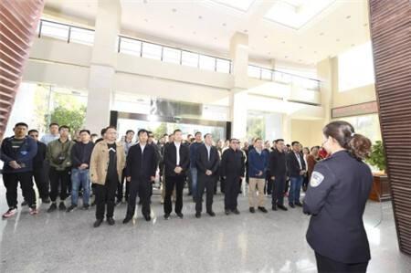 度假区全体党员干部参观云南省警示教育基地
