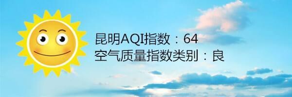 昆明空气质量报告|3月21日
