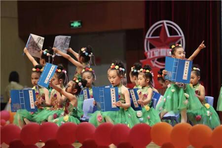 呈贡2000学子载歌载舞,炽热童心演绎我的中国梦