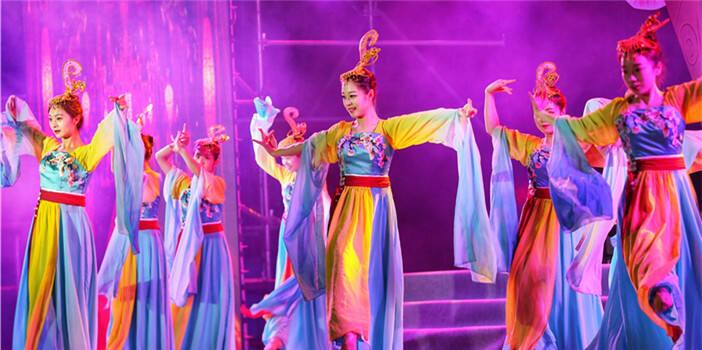 第五届澄江傩戏文化节在抚仙湖畔开幕