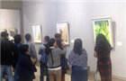 104幅泰北风情油画在昆展出
