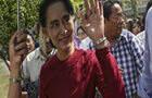 昂山领导民盟赢得缅甸大选