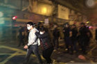 香港旺角爆发骚乱