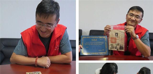 戴灵华先生向云南省博物馆无偿捐赠滇军遗物