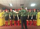 席子营社区唱响红色旋律庆祝建党95周年