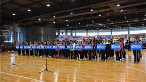 云南人行系统举行首届职工乒乓球比赛