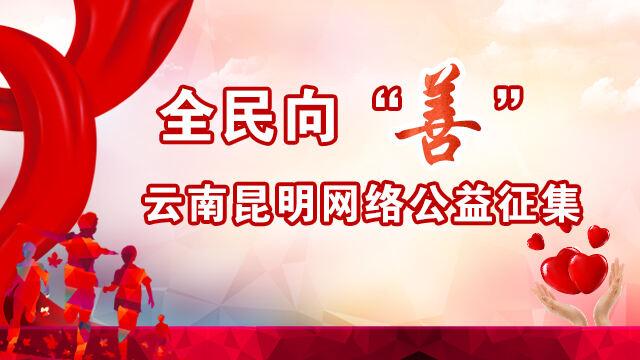 图制|全民向善 云南昆明网络公益征集启动