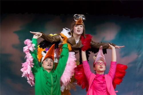 小掌送票!周末带孩子去看儿童剧《飞行学校》吧!