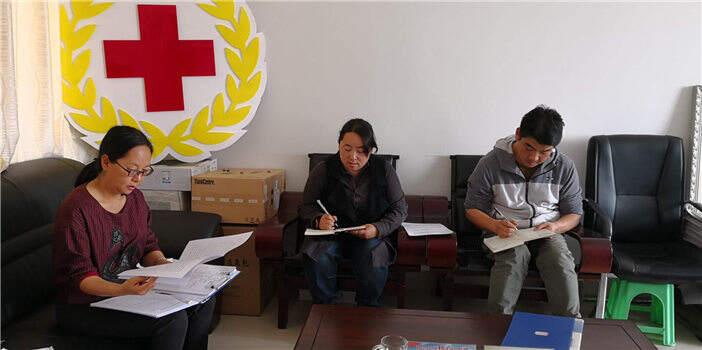 石林县红十字会传达学习省市红十字系统工作会议精神