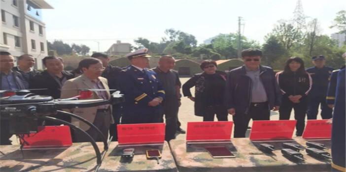 五华区人大代表到昆明市森林消防支队进行调研
