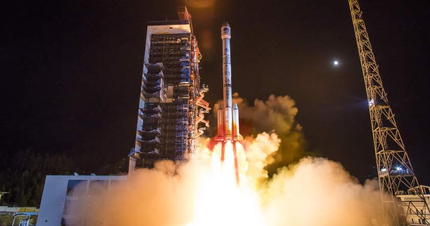 祝贺!2019年首颗北斗导航卫星发射