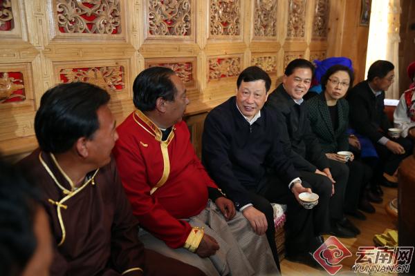 产业帮扶 促共同发展!上海市领导考察沪滇扶贫协作推进情况