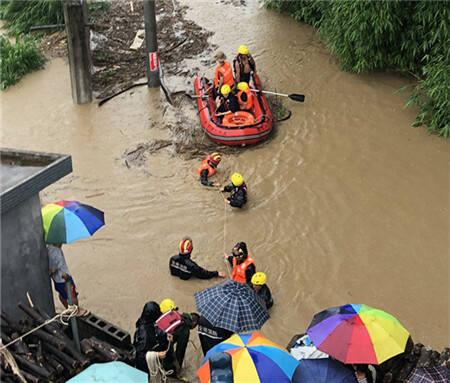 普降暴雨!德宏盈江多地受灾  疏散群众21人
