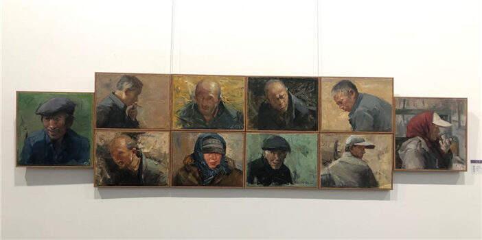 现实之诗•张菲云油画作品展亮相市博物馆
