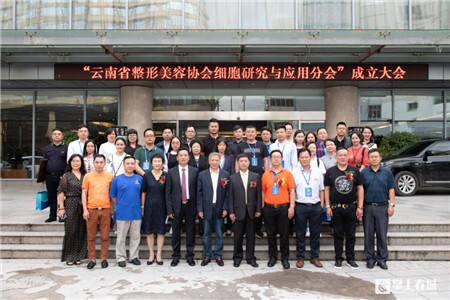 落实大健康理念 云南省整形美容协会又一重要分会成立