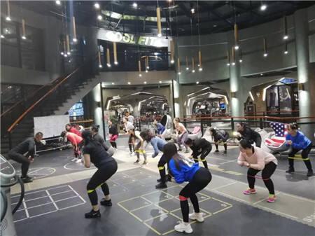 团建之旅,酷搏健身给你带来不一样的健身快感!