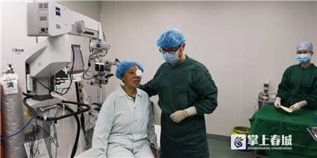 关注白内障 昆明爱尔举行大型科普义诊活动