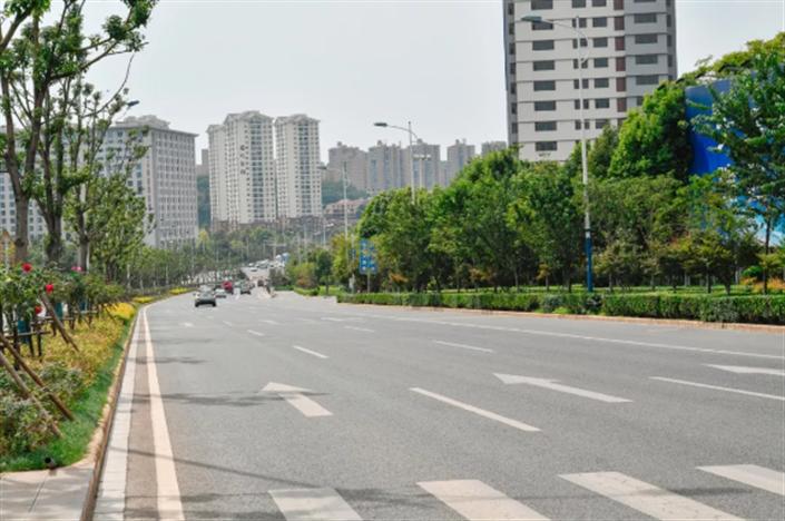 经开区建成市政道路191公里 多条道路有望年内通车
