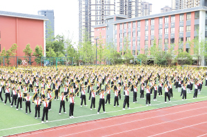 盘龙区构建教育体育事业发展新格局