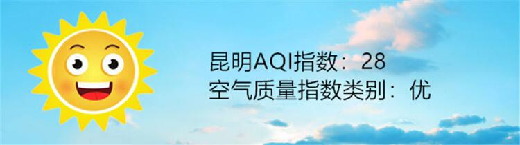 昆明空气质量报告|9月11日