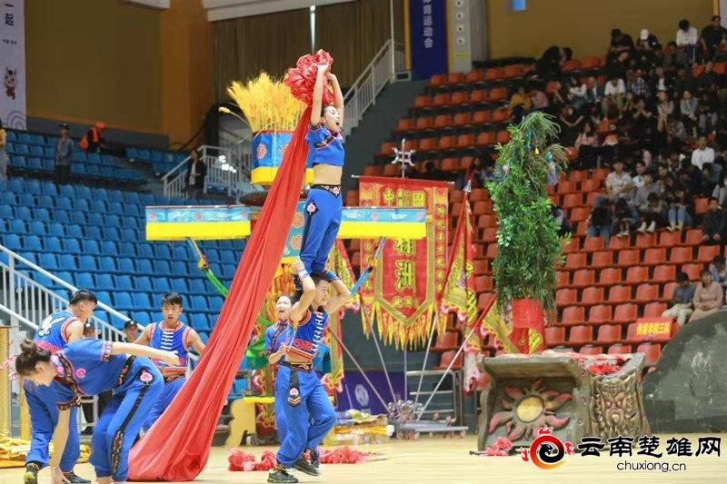 楚雄州节目《搭火把》在全国民运会取得佳绩