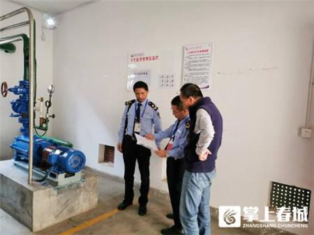 昆明市28家二次供水(泵站)单位卫生检查合格