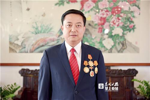 一心堂董事长阮鸿献获庆祝新中国成立70周年纪念章