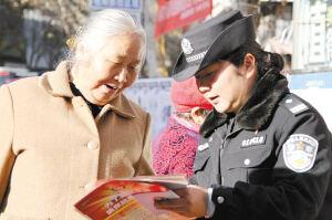 """富民县公安局""""三抓""""并举 全力保安全护稳定迎大庆"""