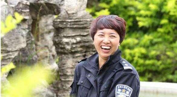 全国最美民警候选人——李文芝