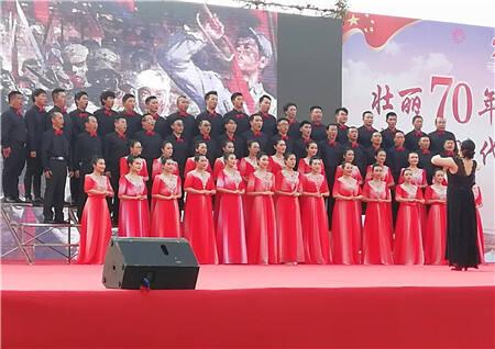 为时代歌唱! 度假区举行庆祝新中国成立70周年文艺汇演
