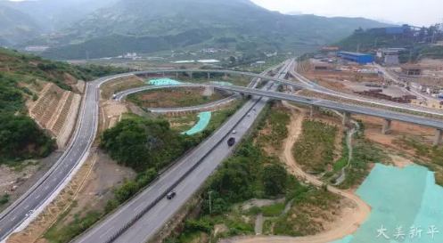 连接两州三市!云南又一条高速公路建成通车