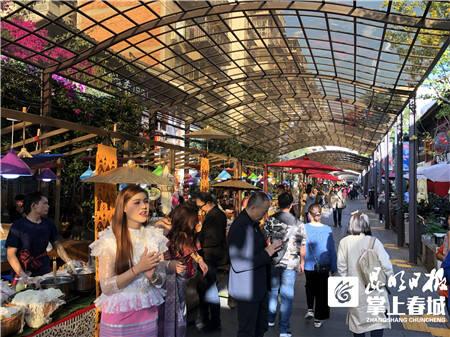 南强街夜市又有新玩场 地道泰国美食、商品等你来!