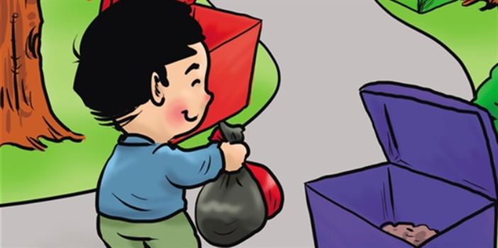 """当垃圾分类走进云南乡村:就有了""""垃圾分类""""超市"""