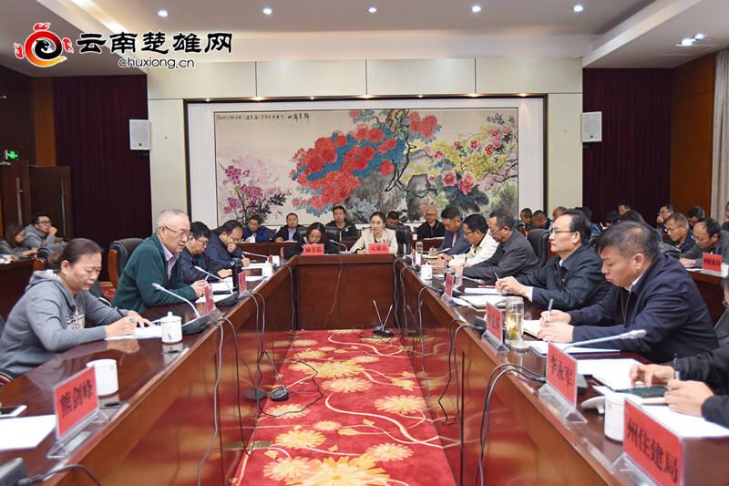 省专家组到楚雄州调研指导特色小镇创建工作