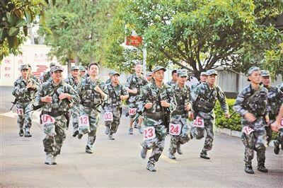 优秀!红河州举行2019年度民兵比武竞赛