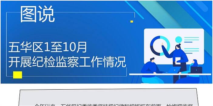 五华区:图说1至10月开展纪检监察工作情况