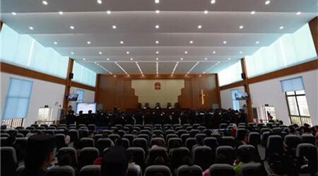 抢劫、开设赌场...楚雄牟定县法院公开审理33人涉黑案件