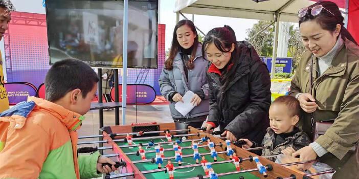 与足球共成长 巴萨昆明足球学院开展喜迎新年活动