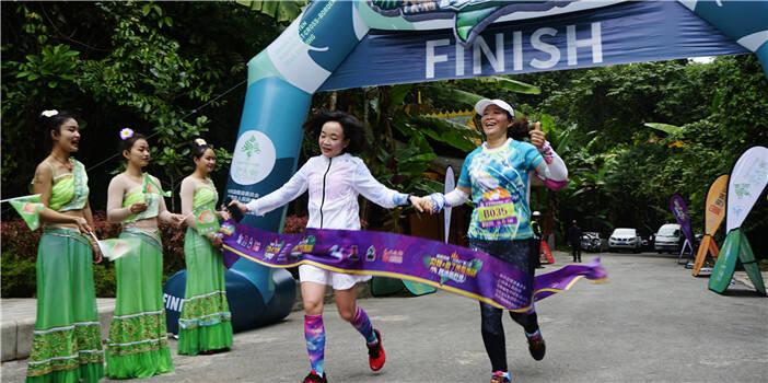 近700人参与第二届勐腊-磨丁热带雨林跨境越野赛
