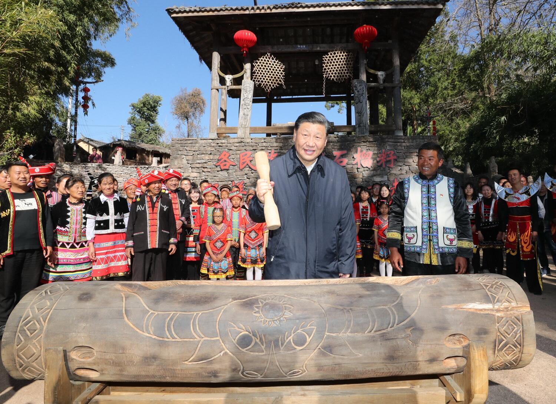 谱写好中国梦的云南篇章 习总书记云南考察在当地引发热烈反响