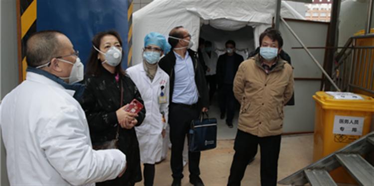 国务院督导组到延安医院开展新冠肺炎防控督导工作