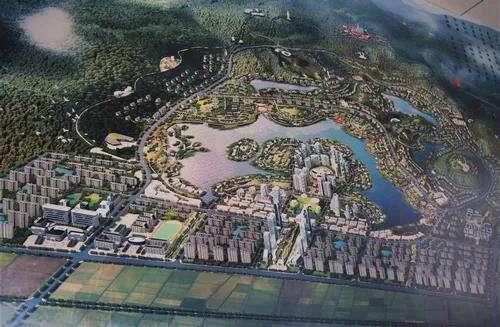 养生小镇、开放式公园…红河蒙自市这个国际健康城已开工