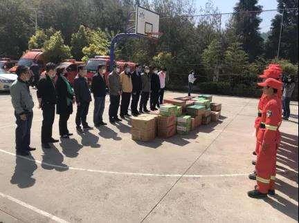 西山区政协主席班子视察森林草原防灭火工作