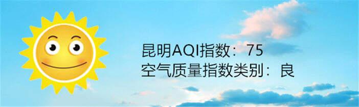 昆明空气质量报告 3月29日