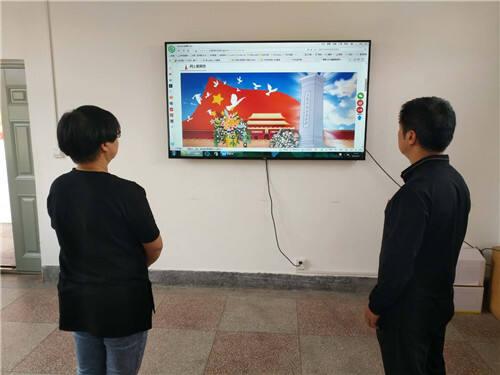 晋宁区红十字会清明节举行网上祭缅活动