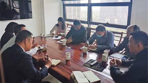 昆明市人社局走访调研呈贡区规模以上劳务派遣机构