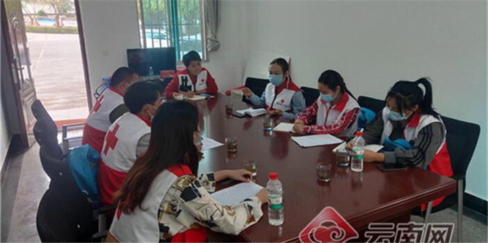 云南省红十字会继续推进边境防疫翻译志愿服务